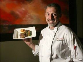 At Rouge Restaurant, Chef Paul Rogalski has helped create nine Canadian-inspired dishes for Canada's 150th birthday. Photo credit Leah Hennel/Calgary Herald