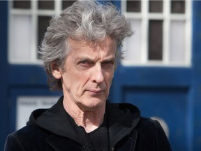 Peter Capaldi, shown here in a file photo, spoke at the Calgary Expo on Friday afternoon.