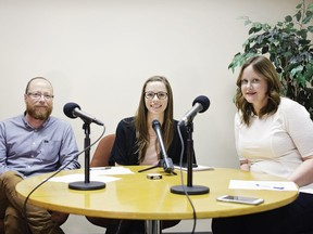 The Confluence podcast hosts Trevor Howell and Annalise Klingbeil are joined by Ask Her board member Sarah Elder-Chamanara.