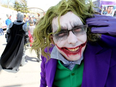 Thousands came out during the 12th Annual Calgary Comic & Entertainment Expo (Calgary Expo) which runs from Thursday toSunday at Stampede Park on Saturday April 29, 2017. DARREN MAKOWICHUK/Postmedia Network
