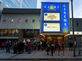 The Globe Cinema during the Calgary International Film Festival.
