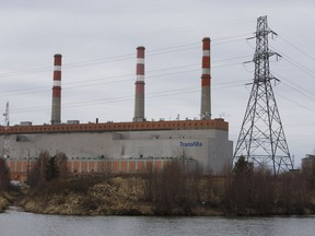 TransAlta's Sundance generating station is pictured in Parkland County on Wednesday, April 5, 2017.