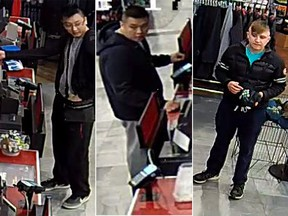 """Investigators in both Calgary and Edmonton are now public help to identify these """"persons of interest"""" who they believe has information related to the shooting deaths of two men in Calgary and one in Edmonton."""
