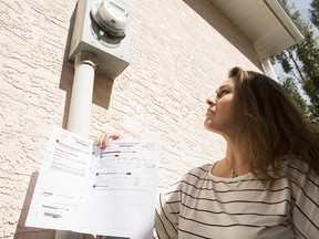Fabiola Faundez is one of many Calgary residents hit by soaring Enmax water bills.