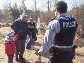 Thousands of people claiming to be refugees have crossed the American border into Canada in recent months.