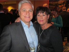 Wayne Henuset and his wife, Liz, owners of Willow Park Wines & Spirits, donated two Stampede travel packages to the Sonoma County Wine Auction in California. The items drew bids of US$85,000 each.