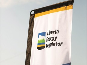 AER (Alberta Energy Regulator) flag. Credit: Alberta Energy Regulator