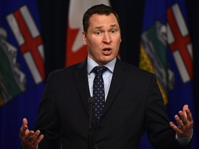 Alberta Economic Development and Trade Minister Deron Bilous.