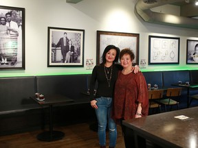 Orderly succession: Christina Lee, left, and  Angela Chuy are the next generation behind King's.