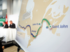 TransCanada executives announced the company's Energy East Pipeline project on Aug. 1, 2013.