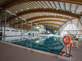 Shane Homes YMCA at Rocky Ridge features a 25-metre, eight-lane pool.