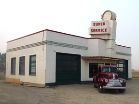 The Eamon's Super Service station, for years a landmark in northwest Calgary, has a new home in High River.