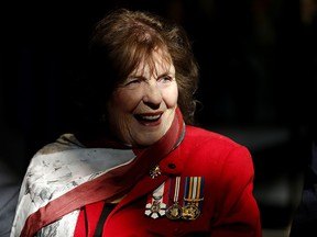 Lois Mitchell, Lieutenant Governor of Alberta, photographed during a ceremony at the Military Museums in Calgary on Oct. 21, 2017.