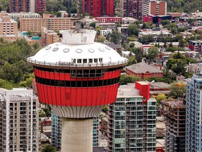 The Calgary Tower is the 54th tallest structure in Canada.
