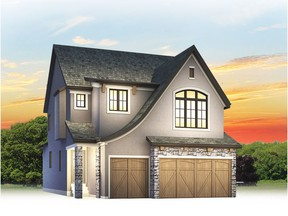 Courtesy Calbridge Homes  An artist's rendering of the new show home by Calbridge Homes in Rocky Vale Green by La Vita Land.
