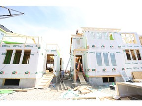 The Edmonton area leads the Calgary area in new construction of single-family homes this year. Postmedia file photo