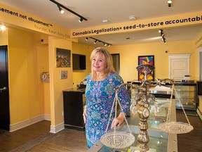 Beltline Cannabis Calgary owner Karen Barry said she's seen changes in her sales as more stores open across the city, but she's making changes to compete in the market.