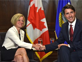 Alberta Premier Rachel Notley and Prime Minister Justin Trudeau have yet to create a long-term plan that addresses emissions and energy needs, says columnist David Hughes.