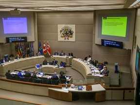 An overall of the Chambers of Calgary City Council on Monday, September 24, 2018.