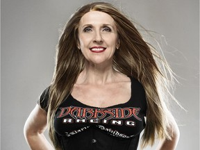 Drag-racer Kelly Fedorowich is the fastest woman in Canada and an advocate for men's prostate health.