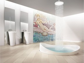 Among the new innovations in flooring is luxury vinyl plank — soft underfoot and waterproof.
