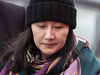 Huawei chief financial officer Meng Wanzhou arrives at a parole office in Vancouver, Dec. 12, 2018.