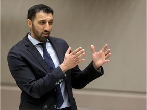 Councillor George Chahal is pictured in council chambers on November 28, 2018.