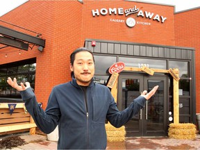 Dustin Cheong, Manager at Home and Away Calgary Kitchen, poses for a picture outside the establishment located along 17 Ave. SW. Later this month the sport bar will be moving locations due to on-going construction on the Red Mile. Wednesday, June 19, 2019. Brendan Miller/Postmedia