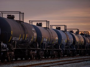 Alberta Premier Jason Kenney has said he is 'open' to letting oil producers exceed quotas if they boost rail shipments.