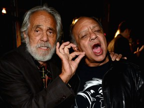 Cult cannabis icons Edmonton-born Tommy Chong, 81, and American-Mexican Cheech Marin, 73.