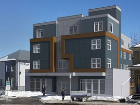 The James House is being built by Logel Homes for the Resolve Campaign to end homelessness in Calgary.