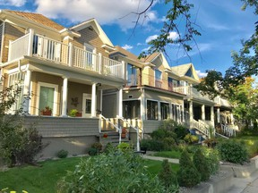Inner-city neighbourhoods are home to dozens of  older homes mixed with contemporary new infills.