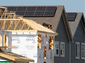 Single-family home building starts increased by three per cent compared with the same month in 2018.