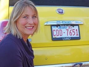 Debra Gazeley of Lethbridge is renting out her sporty little car in the same way Airbnb operates.