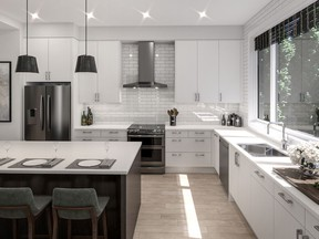 """Building healthy homes is """"really about researching and selecting better products, ones that don't off-gas, that are formaldehyde-free and have low or no VOC content,"""" says Kevin Mullen, president of Calgary-based Empire Homes."""