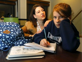 Zoe Hennel, pictured here with her mother Wendy, will lose a teacher who has helped her deal with dyslexia in the classroom.
