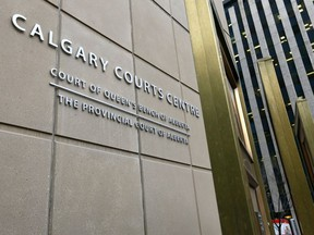 File photo of the Calgary Courts.