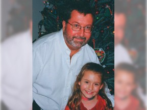 Alanna Smith with her father Graham Smith.
