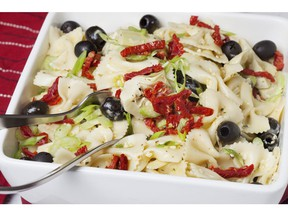Mediterranean Pasta Salad for ATCO Blue Flame Kitchen for Jan. 15, 2020; image supplied by ATCO Blue Flame Kitchen