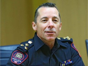 Calgary's new police Chief Mark Neufeld intends to continue to build trust and relationships with both the community and within the service in the coming year.
