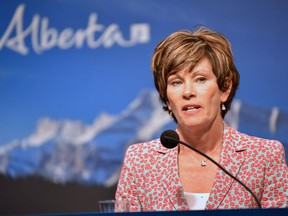 """Energy Minister Sonya Savage says the province will unveil """"an entire suite of policies dealing with well licences and the liability"""" management issues before the end of March."""