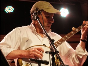 Keith Alessi brings his show, Tomatoes tried to kill him but that banjos saved his life, to Lunchbox Theatre and the High Performance Rodeo. Courtesy, Erika Conway