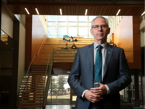 Ed McCauley, president and vice-chancellor of the University of Calgary.