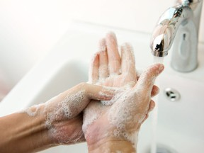 Postmedia columnist Licia Corbella says washing your hands is important, but its also important to be mindful of how you use your hands in public spaces.