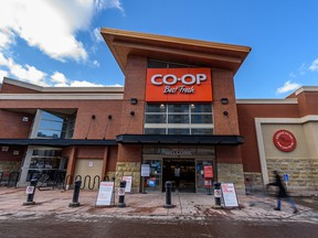 The Midtown Co-op on 11th Avenue S.W. on Wednesday, March 25, 2020.