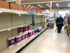 There are bigger issues than finding toilet paper, says columnist Chris Nelson.