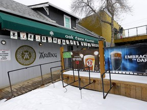 The Oak Tree Tavern is closing temporarily due to COVID-19 and public pressure. Thursday, March 19, 2020. Darren Makowichuk/Postmedia