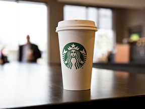 Starbucks is pausing personal cup use and serving drinks in in-store mugs.
