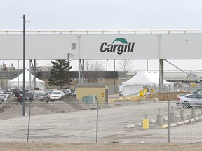 The Cargill plant north of High River, AB, south of Calgary is shown on Friday, April 17, 2020. Jim Wells/Postmedia