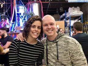 Nicole Maseja and her late husband Joshua Winfield before his death through MAiD in early 2019.